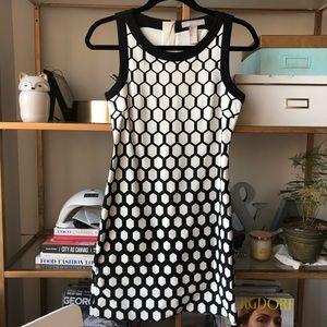 Banana Republic Hexagon Print Dress